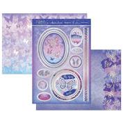 Hunkydory Flutterbye Rainbow Indigo Dreams Topper Set Card Kit