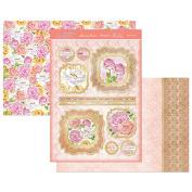 Hunkydory Wonderful Women Rose Bouquet Topper Set Card Kit WOMEN908