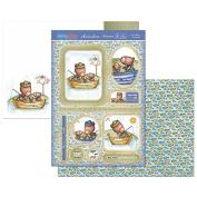 Hunkydory Super Men You're Reel-y Awesome Topper Set Card Kit SUPER907
