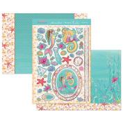 Hunkydory Perfect Princesses Under the Sea Topper Set Card Kit PRIN905