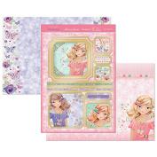 Hunkydory Perfect Princesses Rose Fashionista Topper Set Card Kit PRIN903