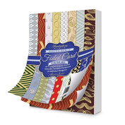 Hunkydory Crafts Essential Book of Foiled Card for the Men 40-Sheets 350gsm