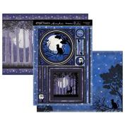 Hunkydory Twilight Kingdom One Enchanted Evening (Cat) Topper Set Card Kit