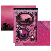 Hunkydory Twilight Kingdom By the Moonlight (Dragon) Topper Set Card Kit