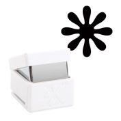 Xcut Handheld Paper Card Shape Stencil Craft Cutter - Medium Palm Punch - Daisy