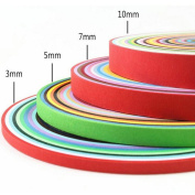 Toodoot Paper Quilling Set 260 Strips 26 Colours 39cm Length strips 3/5/7/10mm Width Available