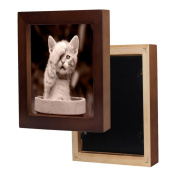 Hunputa 18cm ×18cm Picture Frame Home Fun Wood Photo Frame Collage Photo Frame for Wall
