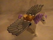 Lego Elves Pegasus Horse with Silver Wings Animal Minifigure