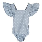 Puseky Newborn Baby Girls Polka Dot Romper Jumpsuit & Headband Bodysuit Outfits