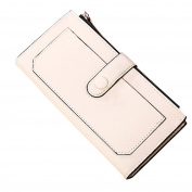 Hunputa Lady Womens Leather Clutch Wallet Long Card Holder Case Purse Handbag