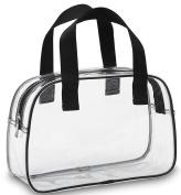 BAM Bags Stadium Approved Clear Bag Tote Handbag Messenger Bag