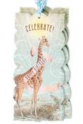 Papaya gift tags Celebrate! Giraffe