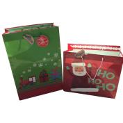 2 Jumbo Super Heavy Weight Christmas Gift Bags