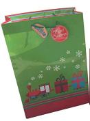 JUMBO Christmas Gift Bags Super Wide Bottom 9