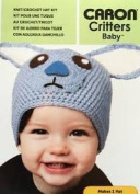 Caron Critters baby Blue Bunny Hat