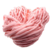 Gilroy Acrylic Chunky Big Yarn for Hand Knitting Crochet, 250g, Soft and Super Thick - Pink
