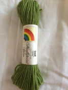 Avocado (Green) Scovill Dritz Needlepoint 100% Pure Virgin Wool Yarn - 40 Yards