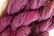 Light Burgundy Purple 100% Wool Sports Weight Yarn