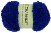 Charmkey Super Soft Feeling Fun Fur Baby Fluffy Yarn Skein Assorted Colours Knitting Polyester Fuzzy Velvet Roving Royan Yarn for Sweater Shawl Scarf, 50ml