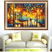 Mingo Colourful Trees Counted Cross Stitch 5D Diamond Embroidery Kit DIY Home Decor