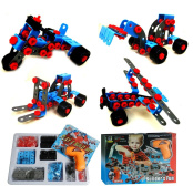 Night Lions Tech(TM) Building Block Set with Electric Drill Contains 280pcs Parts