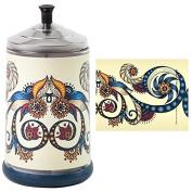 Salon Skins Decorative Barbicide Jar Wrap Tattoo Wrap