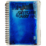 Merangue Hi-Jell Sketcher Journal with Carry All