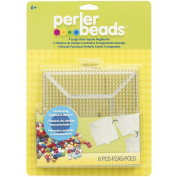 Perler Bead Board Pegboard Square Interlocking Crafts Beading Ironing Paper New .supply.from:veronicas-choice-deals