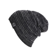 Knit Hat,Canserin Men's/ Women's Winter Knit Baggy Beanie Hat Ski Slouchy Caps