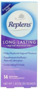 Replens Long-lasting Vaginal Moisturiser With Reusable Applicator, 14 Applications per Box