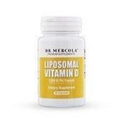 Dr Mercola Liposomal Vitamin D 1000 IU - 30 Capsules - Essential for Heart Health and Joint Health - 1,000 IU per Capsule