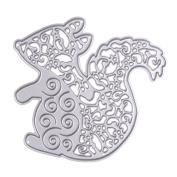 TTnight Cute Squirrel Cutting Dies Metal Template Mould Stencils for DIY Scrapbooking Album Paper Card Decorative 14