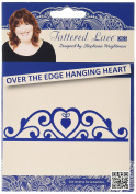 Tattered Lace Over the Edge Hanging Heart Cutting Dies D915