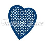 Tattered Lace Love Heart Lattice Cutting Dies D366