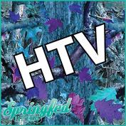 BLUE TREE CAMO PATTERN HTV Heat Transfer Vinyl 30cm x 36cm Camouflage for Shirts