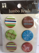 Holiday Jumbo Brads for Scapbooking
