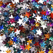 6mm Acrylic Star Flatback Cabochon Rhinestone Embellishments Scrapbook Craft Eads Fit Phone Embellishment For Scrapbooking 1000 Pcs