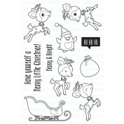 CLEAR STAMPS-SNTA'S MAG