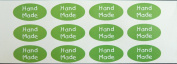 Minilabel Promotional Stickers, Hand Made, 40X20Mm Oval Selfadhesive Postal Labels
