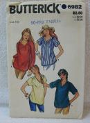 Butterick Pattern 6982 - Misses' Maternity Dress, Tunic & Pants