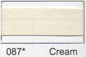 Berisfords R77750/087 | Cream Polycotton Bias Binding 50mm x 20m