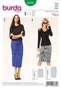 Burda Style Skirt Easy 6634 US sizes 8-18