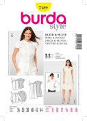 Burda 7189 Dress & Blouse