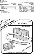 Belt Pack Bag #208 Sewing Pattern