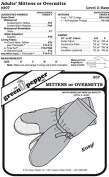 Adult's Overmitts Insulated Mittens #207 Sewing Pattern
