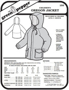 Children's Kids Oregon Jacket Coat #150 Sewing Pattern