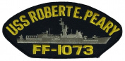 USS ROBERT E. PEARY FF-1073 PATCH - Multi-coloured - Veteran Owned Business