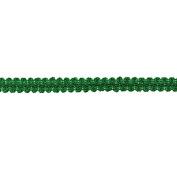 1.3cm CHINESE BRAID TRIM,KELLY, 9 YDS
