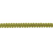 1.3cm CHINESE BRAID TRIM,MUSTARD, 9 YDS