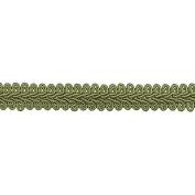 1.3cm CHINESE BRAID TRIM,BEIGE, 9 YDS